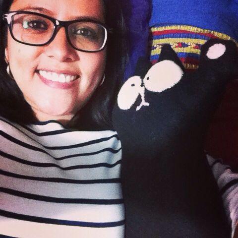 @lycanpinguino me hizo un lindo Simon's Cat con sus manitas.