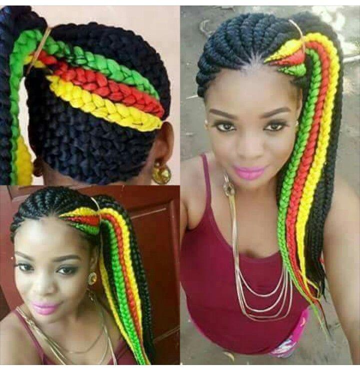Jamaican Hair Styles Braided Hairstyles Black Girl Braids