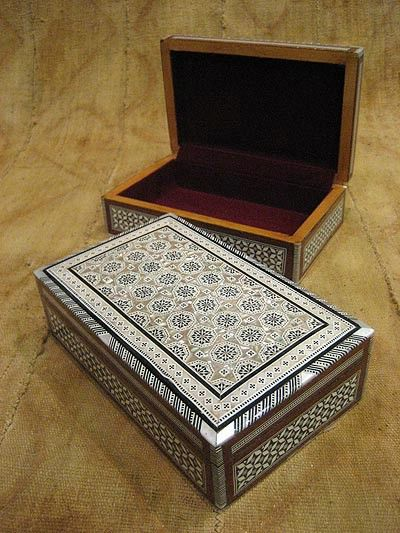 Where To Buy Decorative Boxes Egyptian Mother Of Pearl Inlaid Box #03  Just Africa Art Gallery