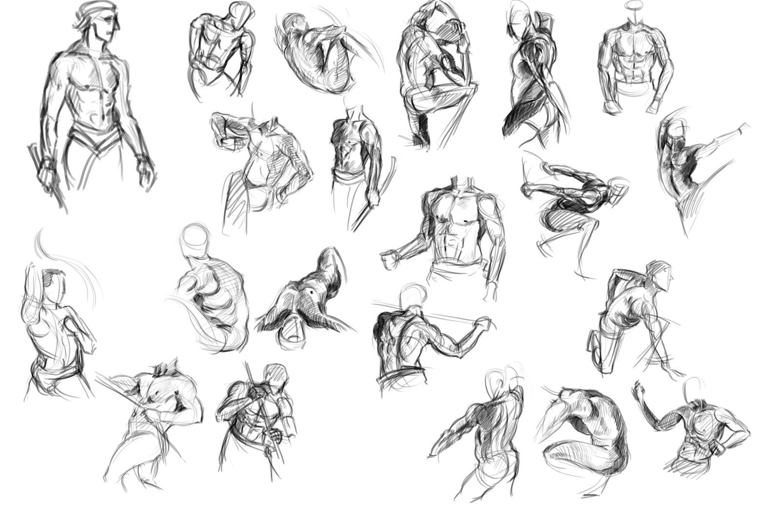 Figure Drawing Poses Women