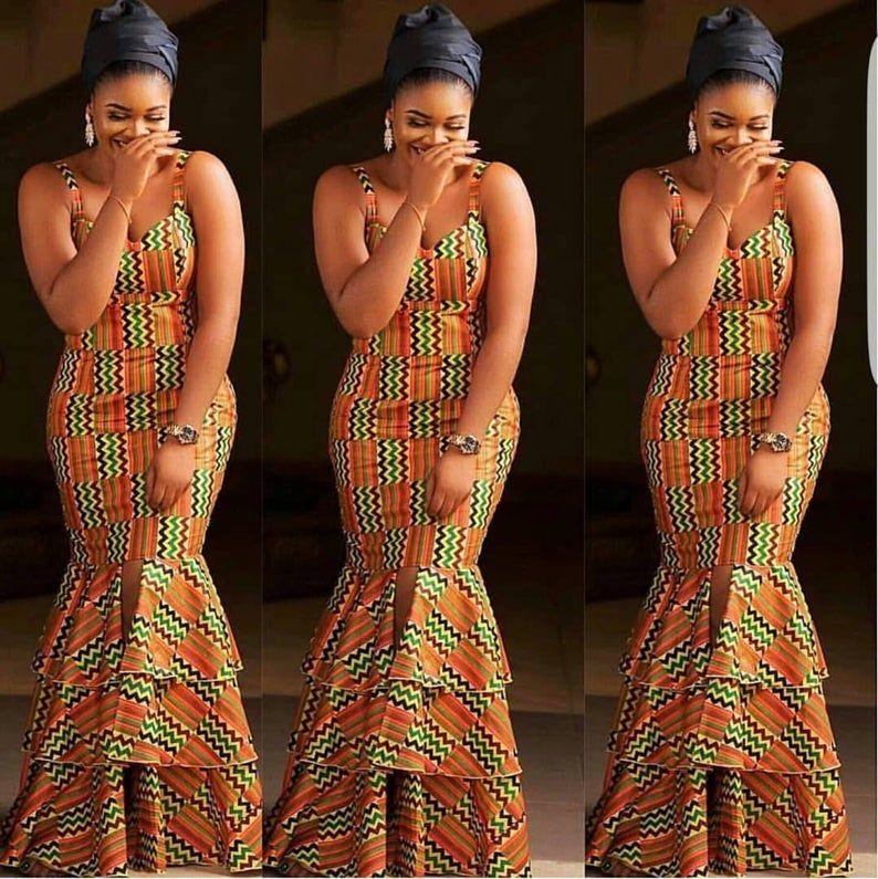 African sleeveless dress,African maxi dress,African clothing for women,off should dress,African print dress,Ankara dress,African long gown