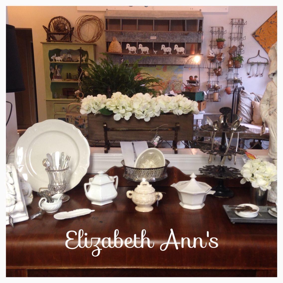 Elizabeth Ann S At Oak Mountain Emporium In Pelham Al Vintage Interiors Farmhouse Style French Vintage