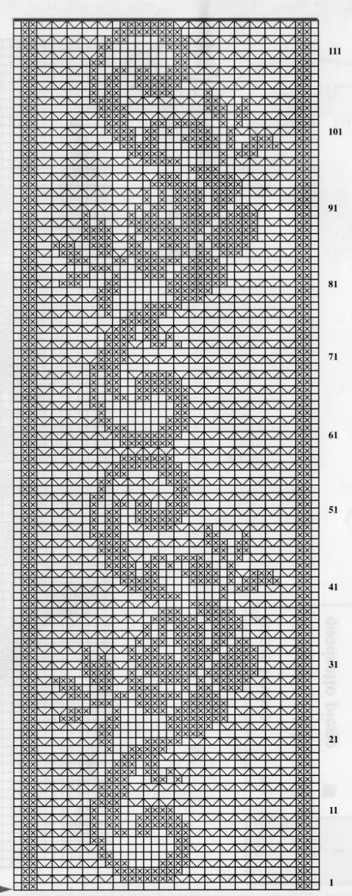 Filet Crochet FREE Pattern | ♡ Needlework ♡ | Pinterest | Deckchen ...