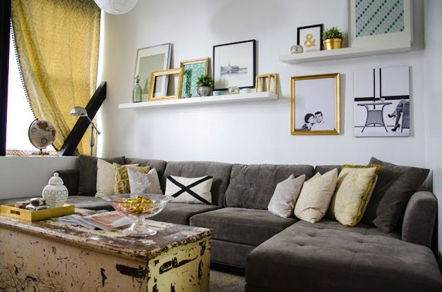 Über Der Couch · Save A Wall, Hang A Poster: 20 Ideas For Alternative