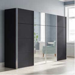 Kleiderschränke mit Spiegel #storagesolutions