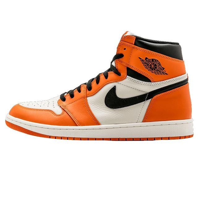 air jordan 1 orange blanche