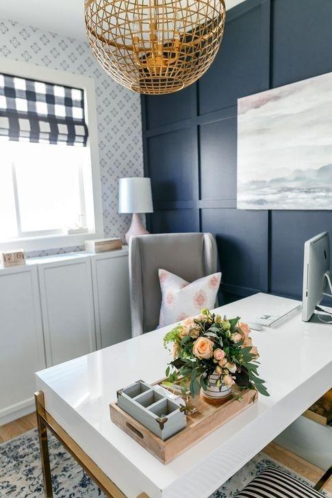 48 Brilliant Home Office Decoration Ideas images