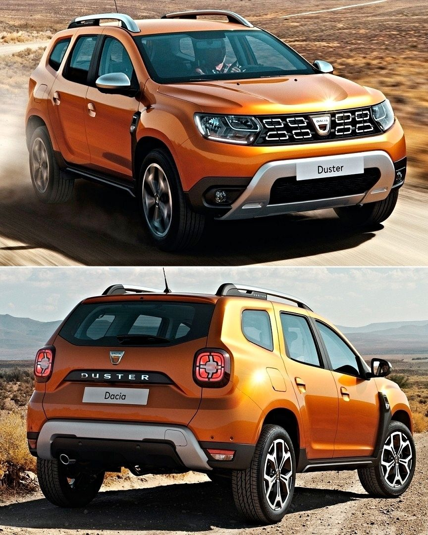 New 2017 dacia duster
