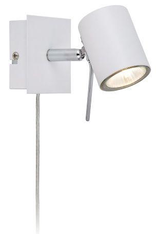 Mitat: Leveys 6,5 cm. Syvyys 15 cm. Korkeus 9 cm. LED-lamput mukana.