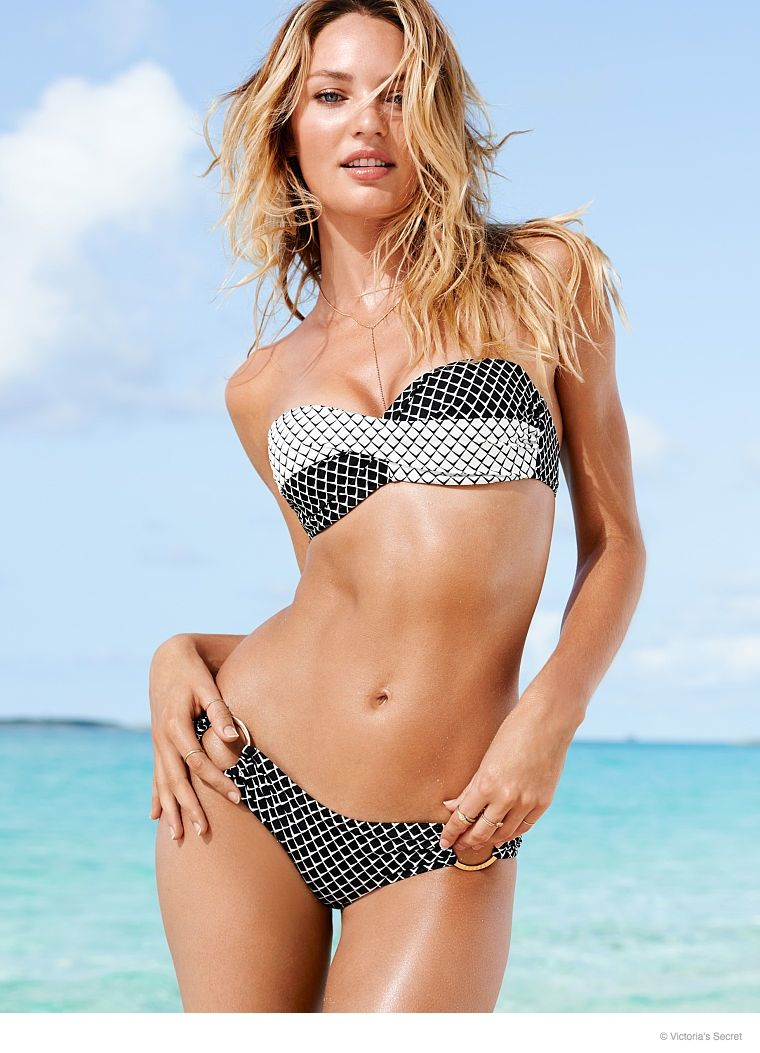 144afce3b76f1 Candice Swanepoel is a Beach Babe for Victoria s Secret