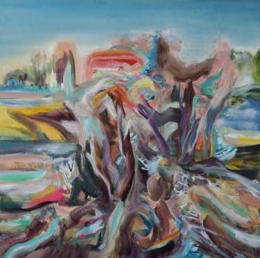 "Saatchi Art Artist Jade Fenu; Painting, ""A Walk in Tuscany"" #art"