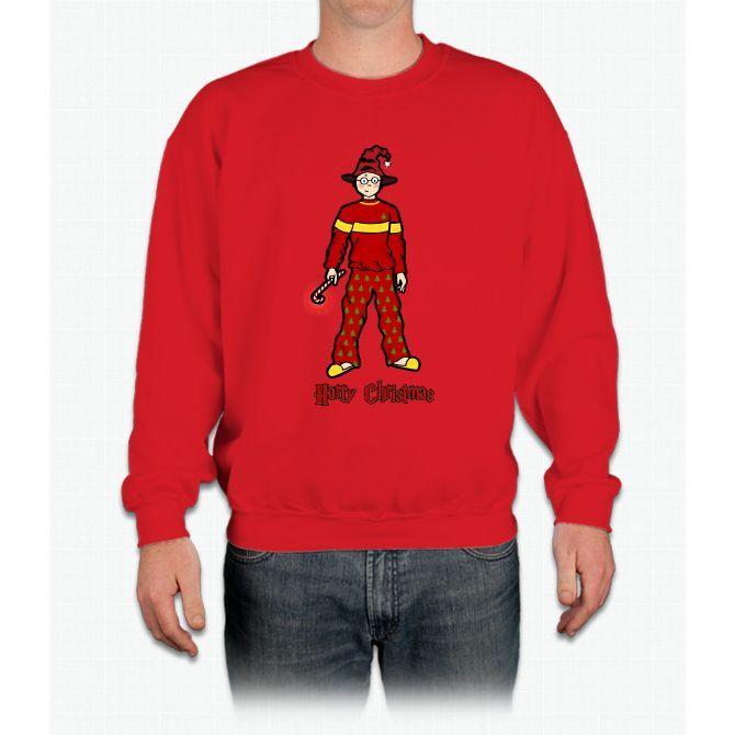 Harry Christmas Harry Potter Crewneck Sweatshirt