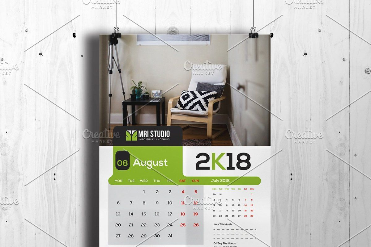 Calander Template in 2020 Modern calendar, School