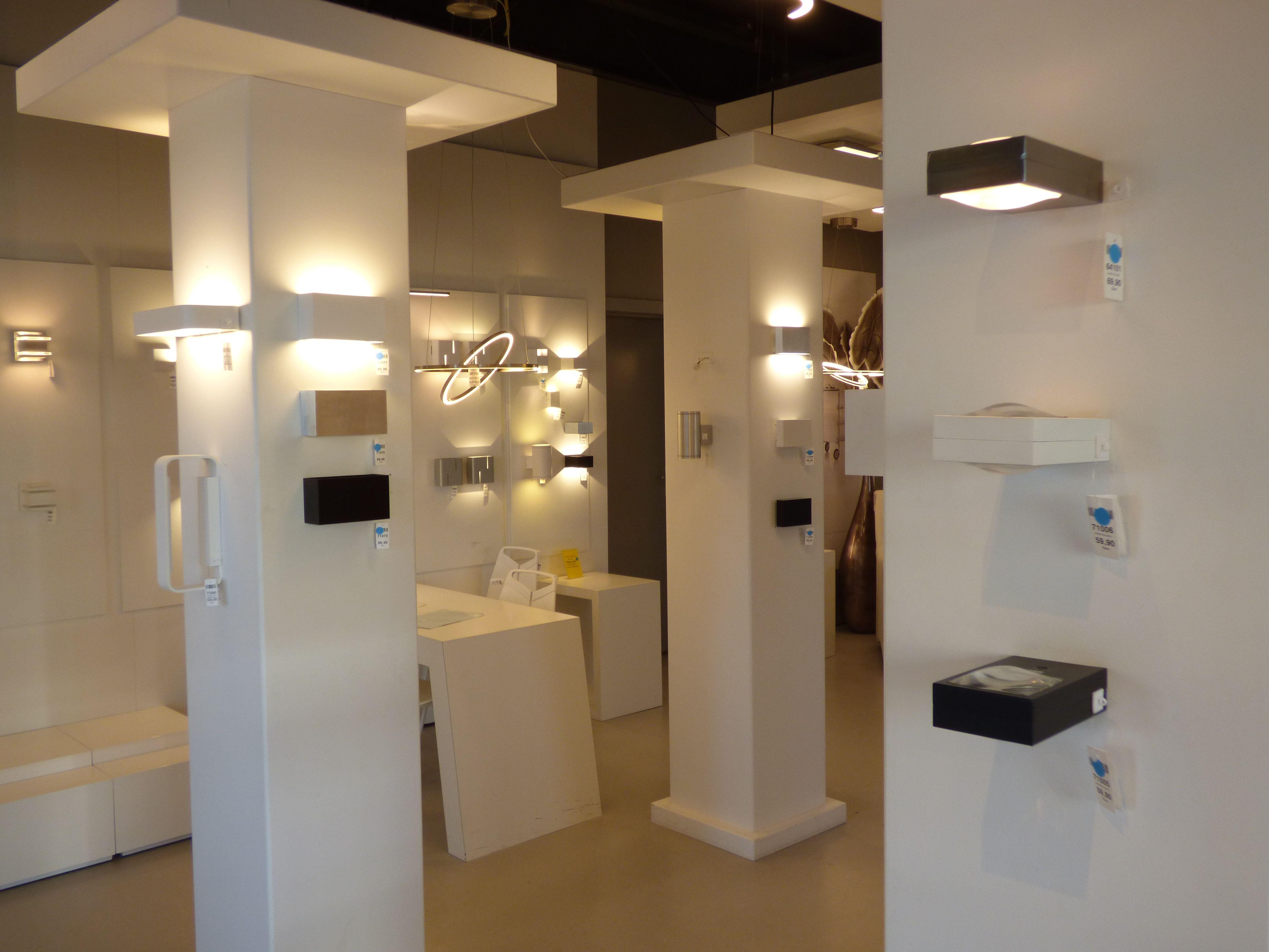 Spot Verlichting Woonkamer : Showroom winkel interieur verlichting design wanu nederland