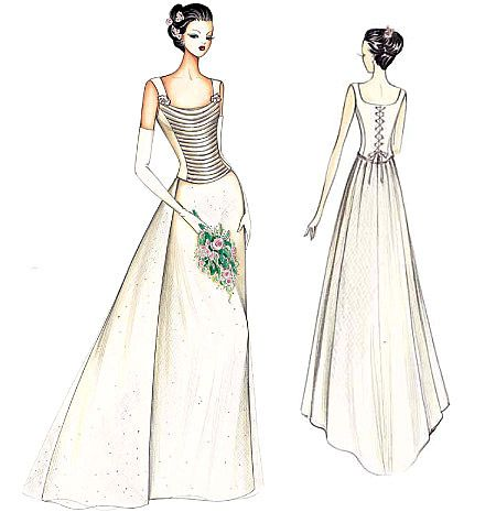 Vogue pattern...like all the detail. hopefully it wouldn\'t make my ...