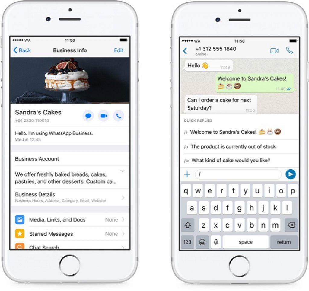 Whatsapp Business App Expands To Iphone Tema Do Whatsapp Corporativo Celulares
