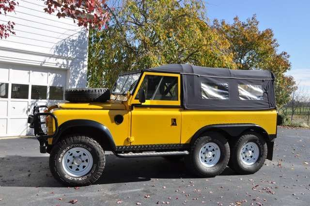 1974 Land Rover Defender 6x6 For Sale By Owner In Paeonian Springs Va Land Rover Defender Land Rover Land Rover Series