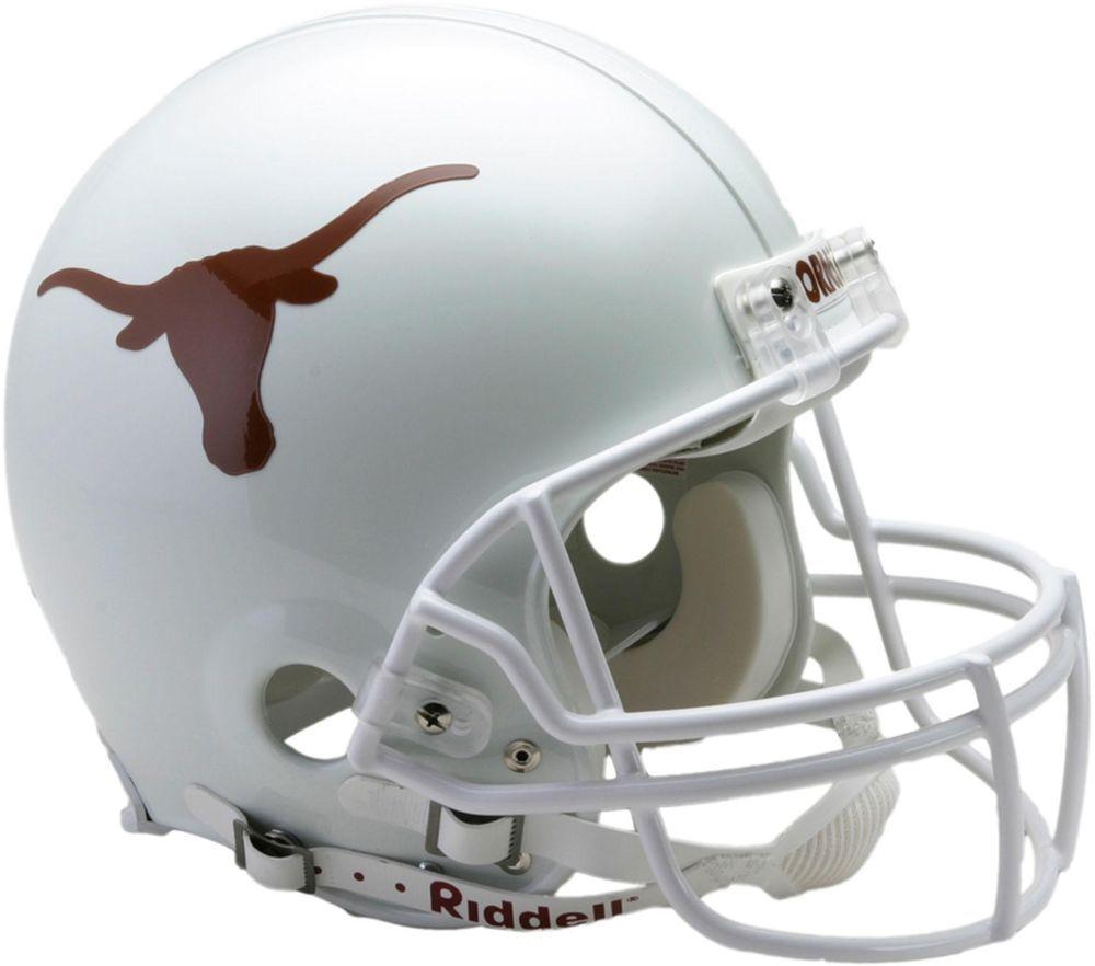Riddell Texas Longhorns VSR4 Full Size Authentic Football Helmet - Fanatics ed24fd6e5