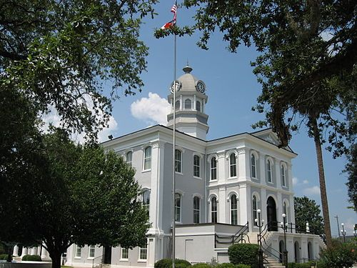 Thomas County Courthouse front view