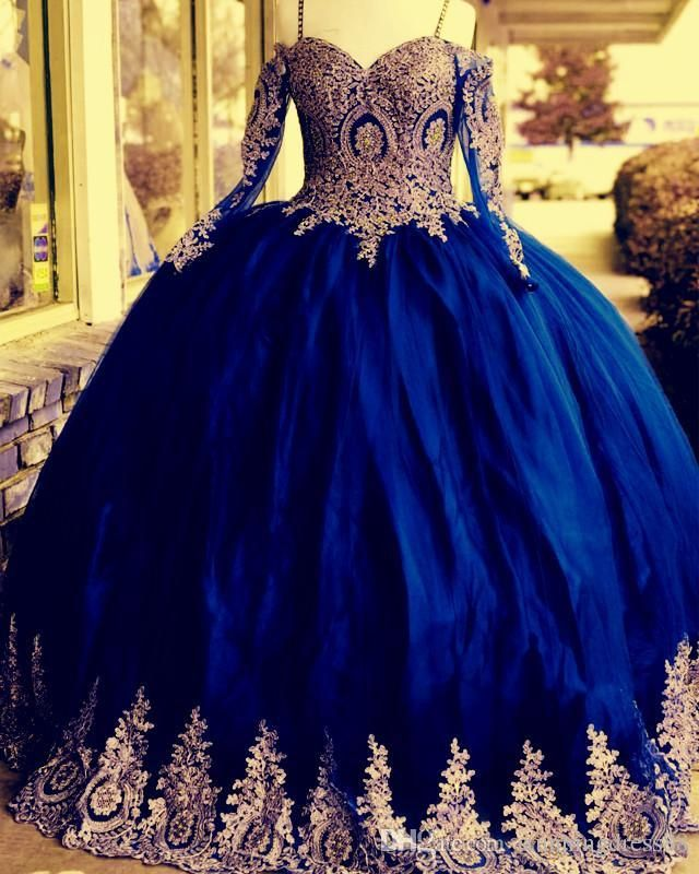 25++ Blue and gold quinceanera dresses inspirations