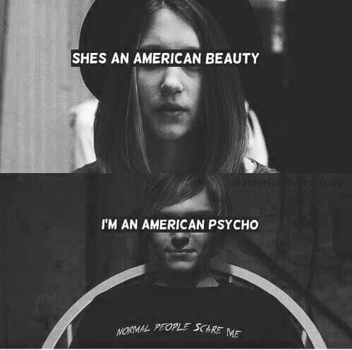 american horror story, grunge, love, psycho, quote, tate ...