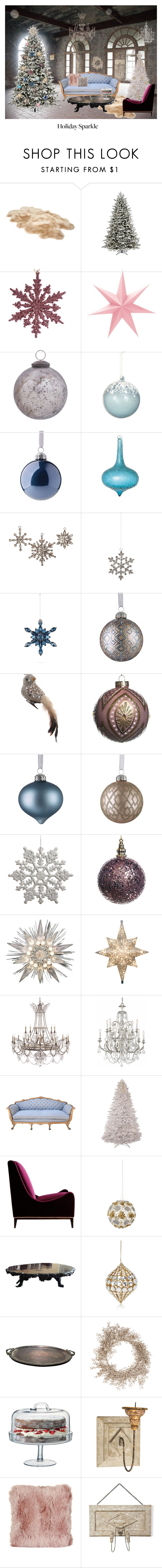 """""""Merry Christmas"""" by gabrielamovaseghi ❤ liked on Polyvore featuring interior, interiors, interior design, home, home decor, interior decorating, UGG, GE, Sage & Co. and Cultural Intrigue"""