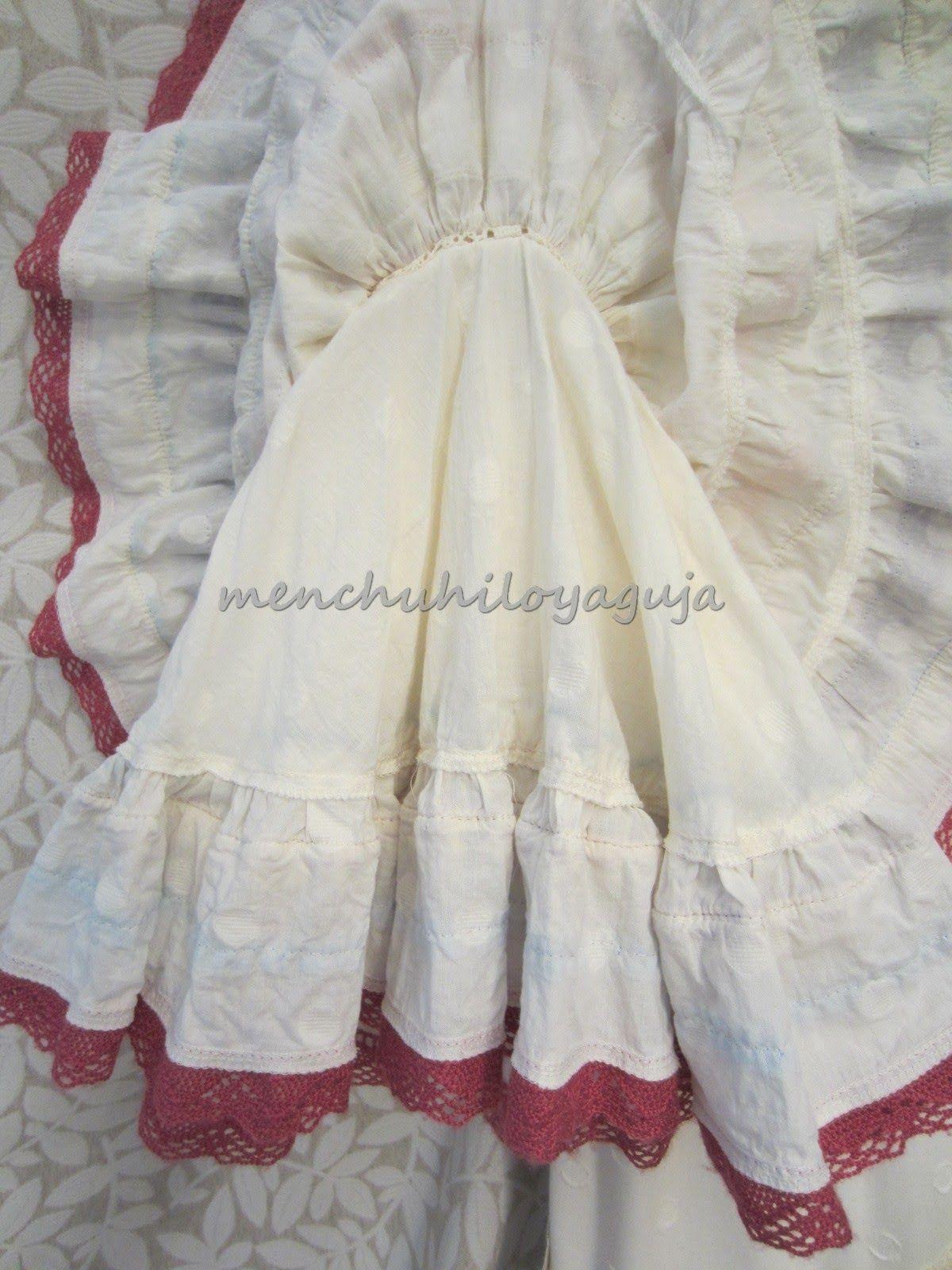 Reciclar un vestido de flamenca, añadiendo volumen al traje. | IDEAS ...