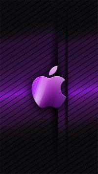 Iphone 7 Wallpapers Purple Apple Iphone Wallpaper Apple Logo