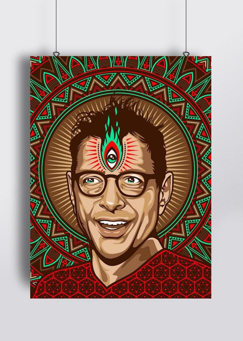 Jeff 3rd Eye Poster Print in 2020 Poster prints, Print