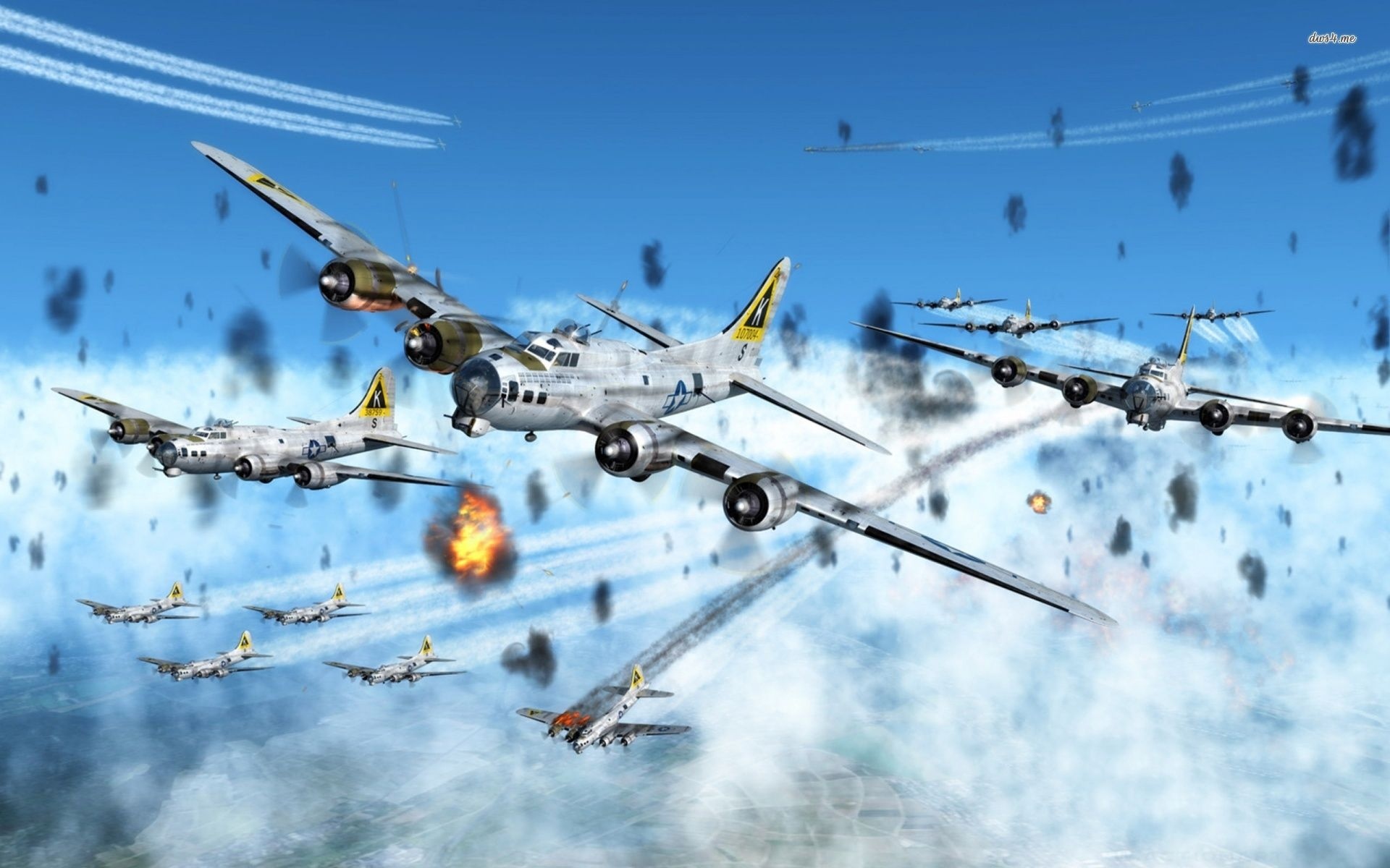 K on tail 447th ww2 bomber b17 pictures art   Boeing B-17 Flying Fortress wallpaper