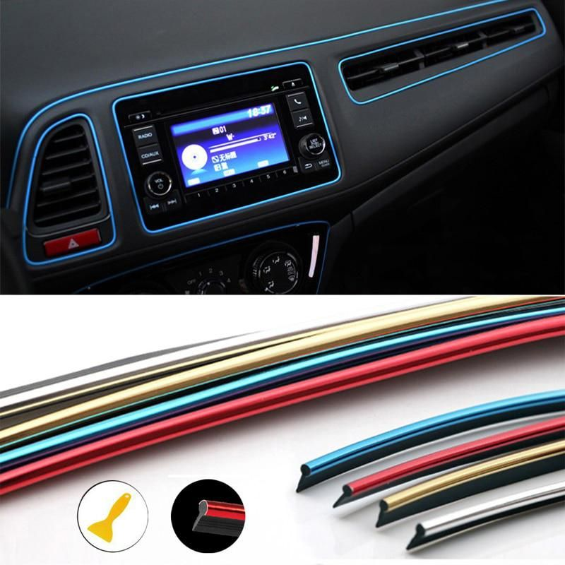 Car Air Outlet Steering Wheel Interior Decoration Mouldings Line