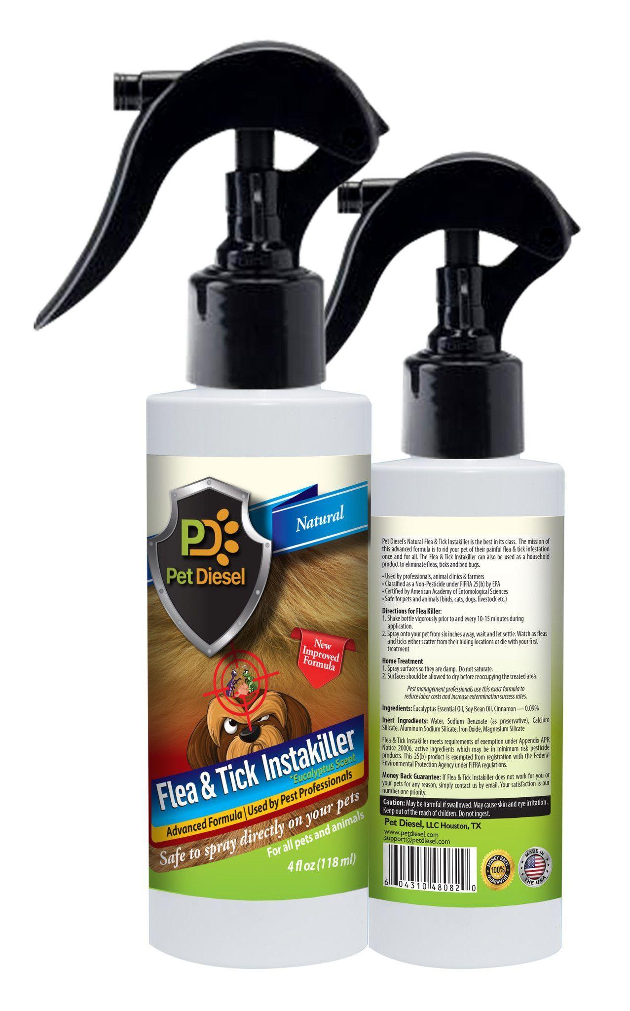 Flea & Tick Repellent & Infestation Control Spray