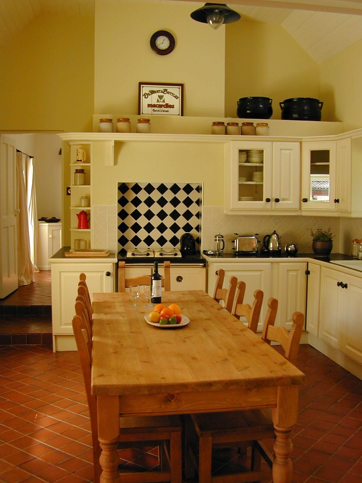 The traditional Irish kitchen at our Wicklow Cottage
