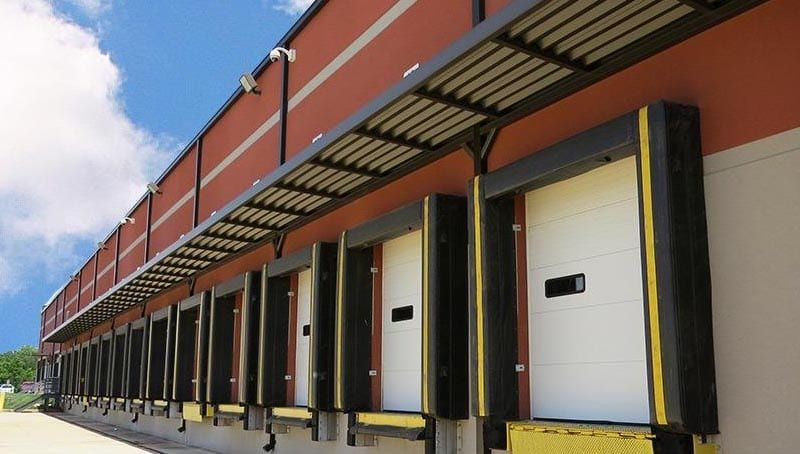 Warehouse Architectural Metal Canopies A Hoffman Awning Baltimore Metal Canopy Metal Awning Architecture