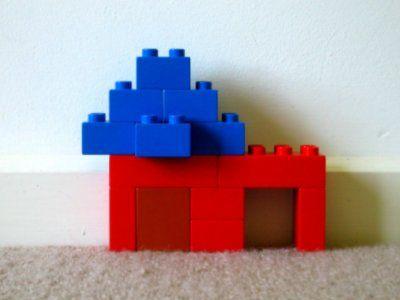 duplo haus mit garage lego voorbeelden kleuter pinterest. Black Bedroom Furniture Sets. Home Design Ideas