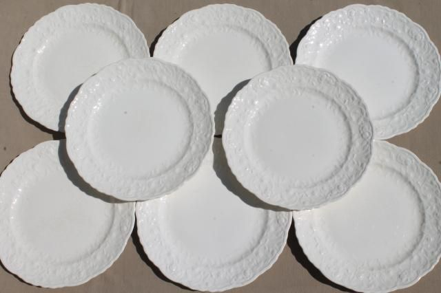 Wedgwood Queen S Plain Large Dinner Plate Fine China Dinnerware