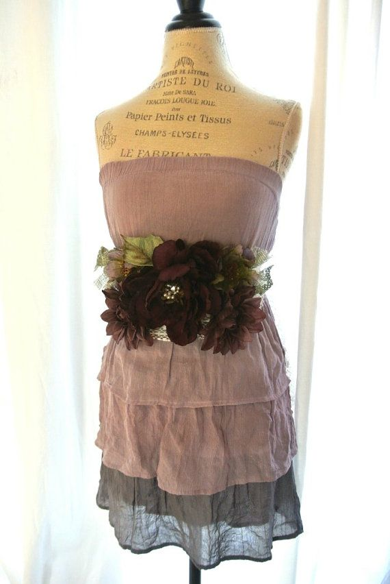 French Country Clothing Part - 45: Women Dress Autumn Plum Dress French Country By TrueRebelClothing, $58.00