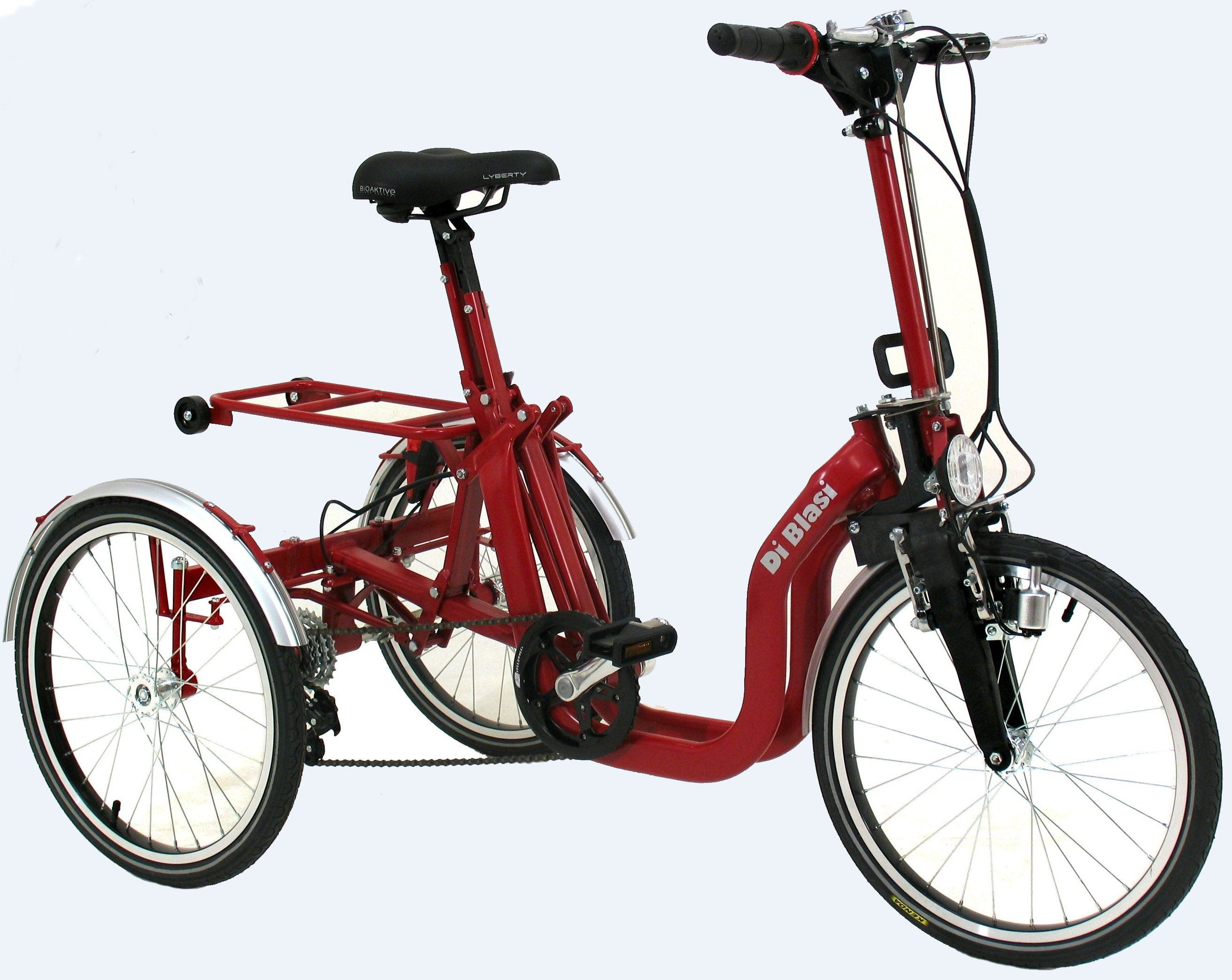 Di Blasi R32 Folding 5 Speed Special Needs Italian Tricycle