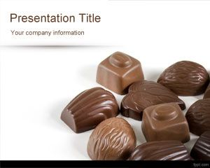 Chocolates Powerpoint Template Is A Free Food Powerpoint Template