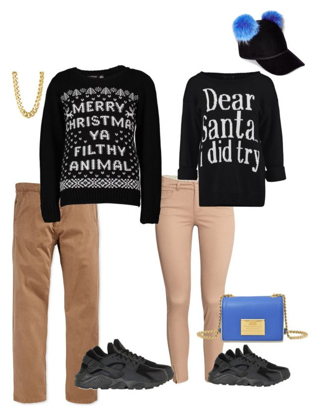 """Untitled #240"" by xoxo-maneshass on Polyvore featuring H&M, NIKE, Rusty, Boohoo, Charlotte Simone, Love Moschino and CC SKYE"
