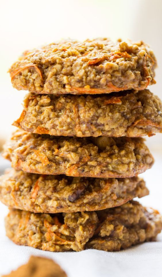 Carrot Cake Quinoa Breakfast Cookies - Simply Quinoa -  Thisbreakfast cookie recipe might just