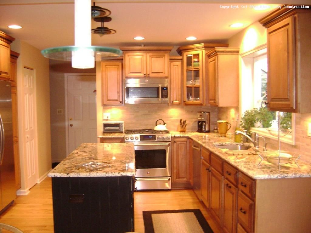 Simple kitchen makeover include installing an island or swapping out ...