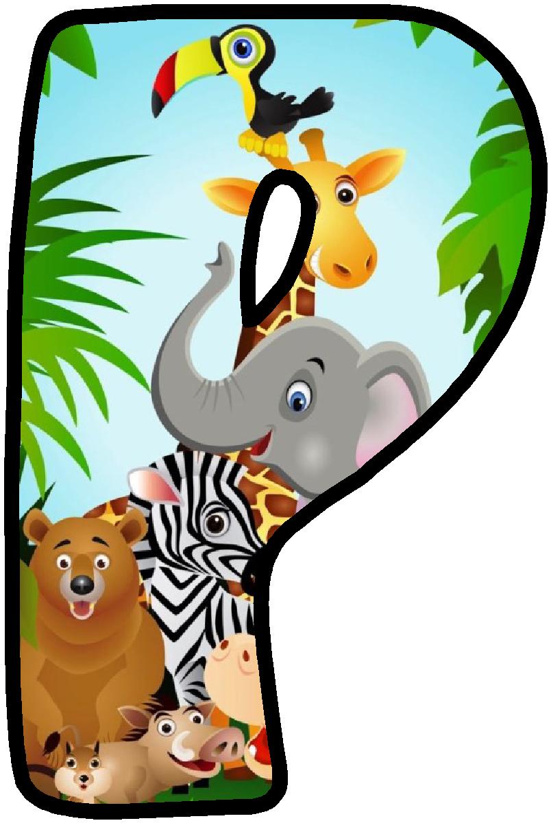 Clipart Zebra Theme Jungle Panda Alphabets Safari