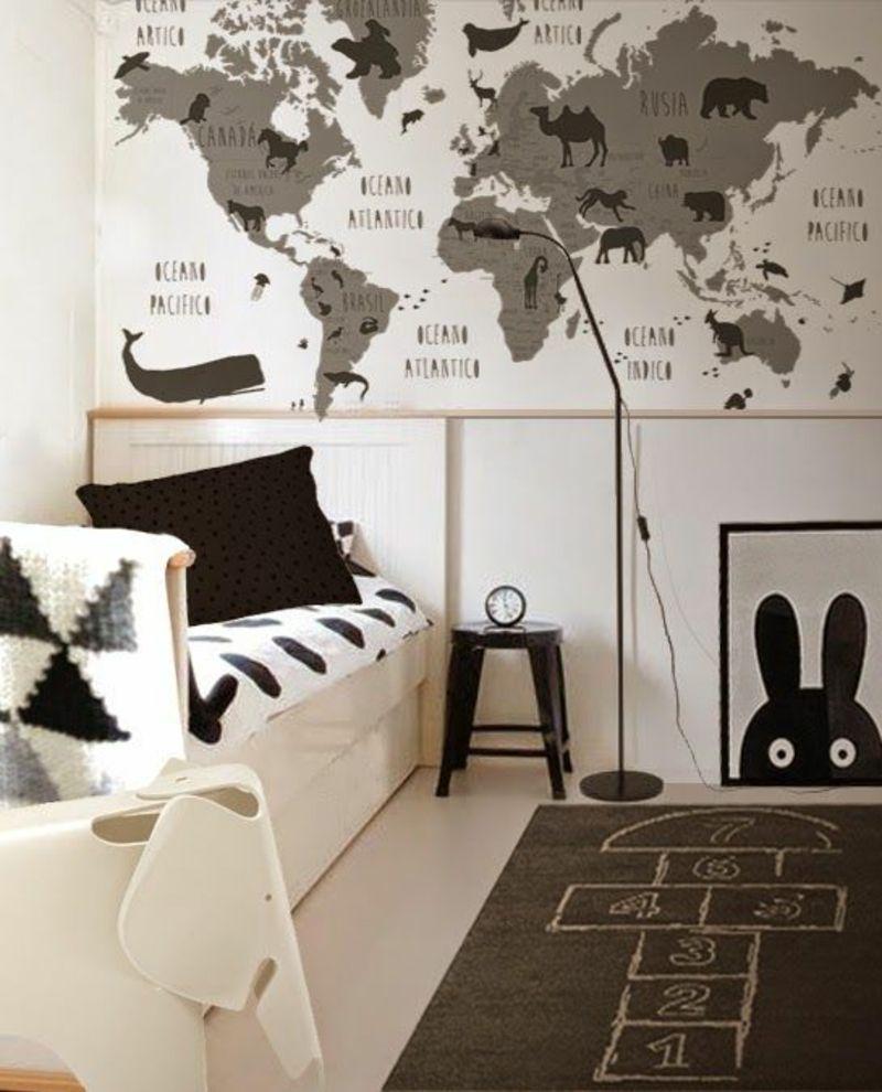 Tapeten Kinderzimmer: Passende Farben und Motive auswählen ...