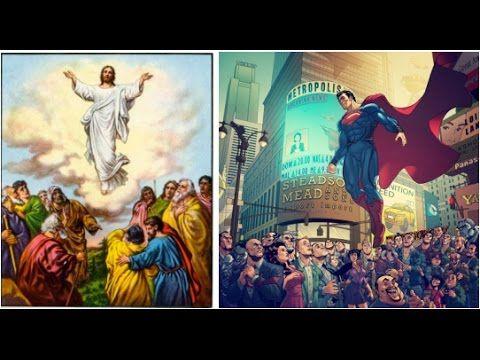 superman jesus superheros symbolism archetypes youtube