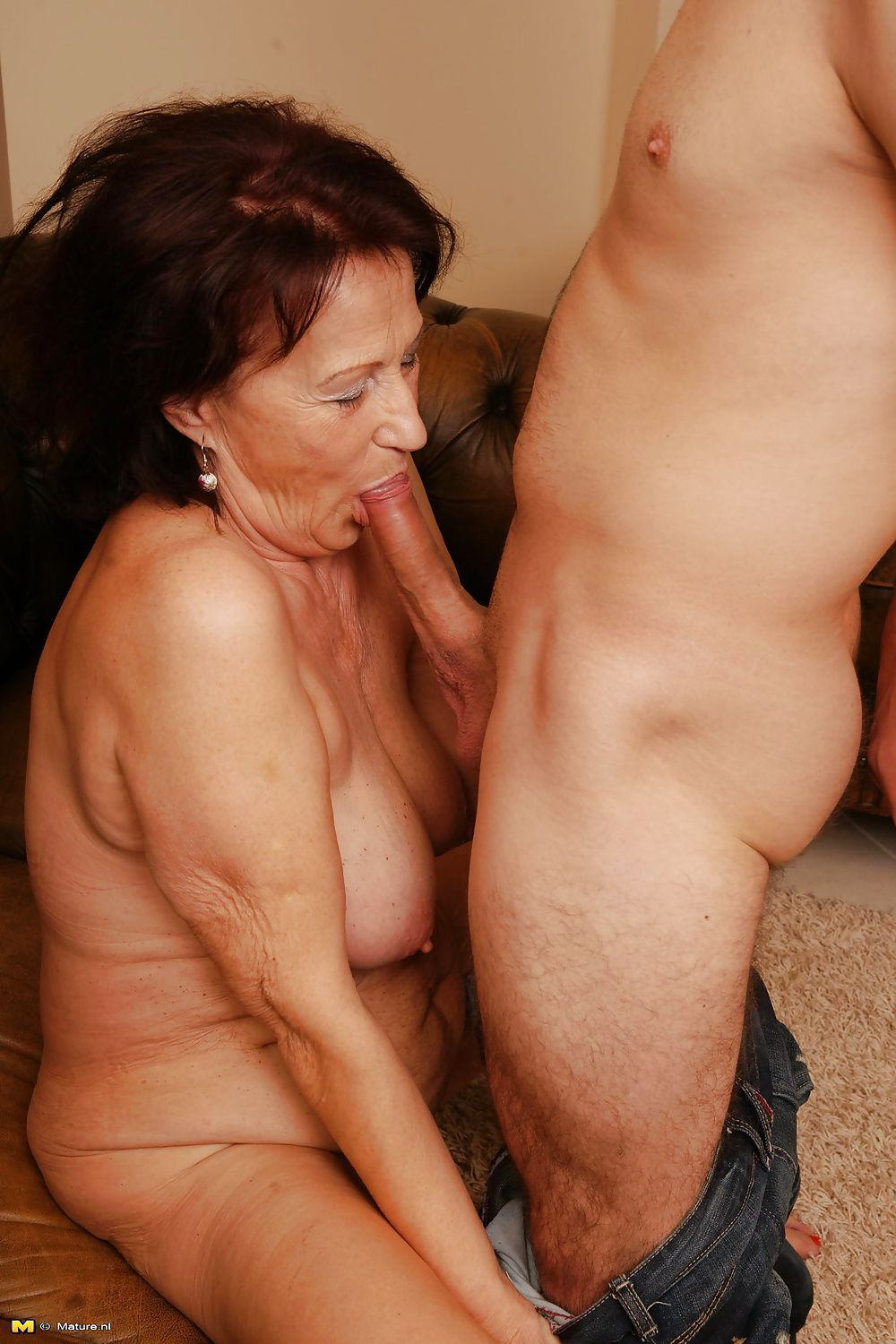 Mature and young part