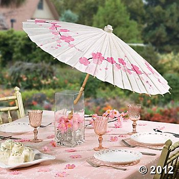Cherry Blossom Parasol Party Favors Party Themes Events