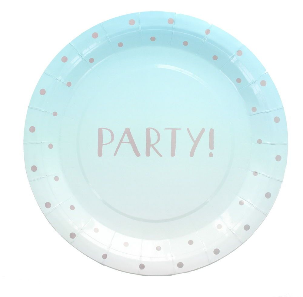 Pack of 20 Summer Party Disposable Paper Plates Party Tableware Supplies-Blue  sc 1 st  Pinterest & Pack of 20 Summer Party Disposable Paper Plates Party Tableware ...