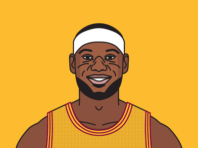 lebron james illustration basketball greatness pinterest