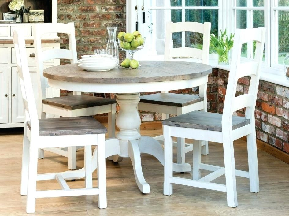 Round Farmhouse Table Set Lovely Farmhouse Dining Table Set Pics